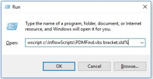 PDM Search from the command line - InFlow Technology