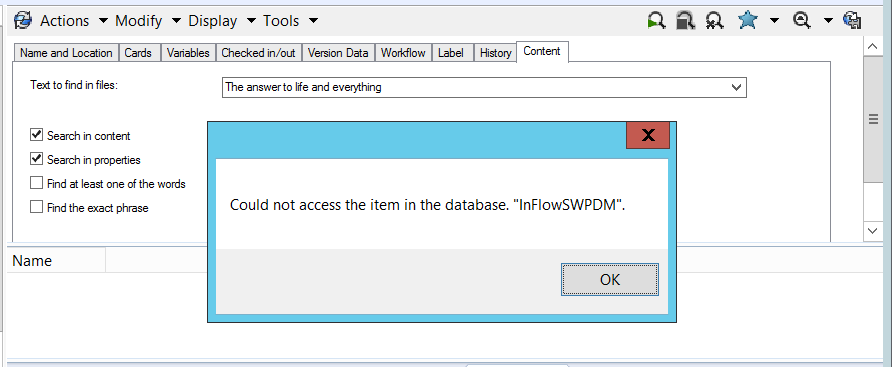 SOLIDWORKS PDM 101: Content Search – Explore Inside Your Files