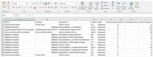 SOLIDWORKS Embedded Search