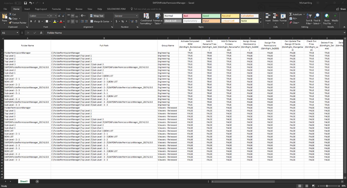 SOLIDWORKS PDM Professional Productivity Pack - PDM Folder
