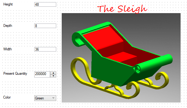 Building sleigh form