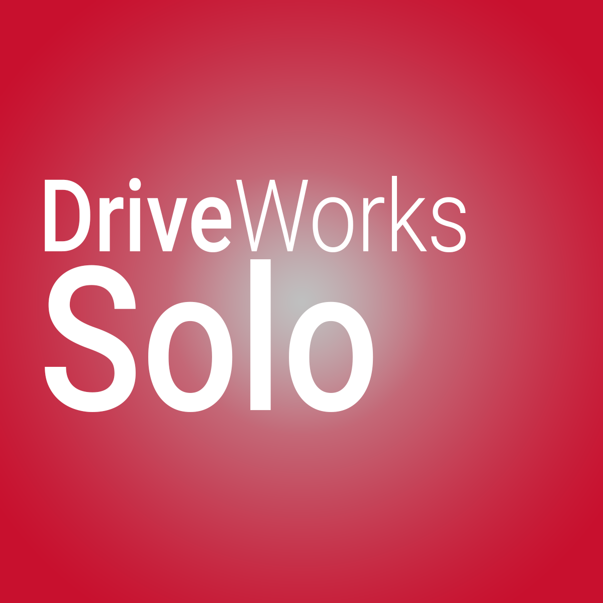 DriveWorks Solo is the second step in the DriveWorks tool ladder