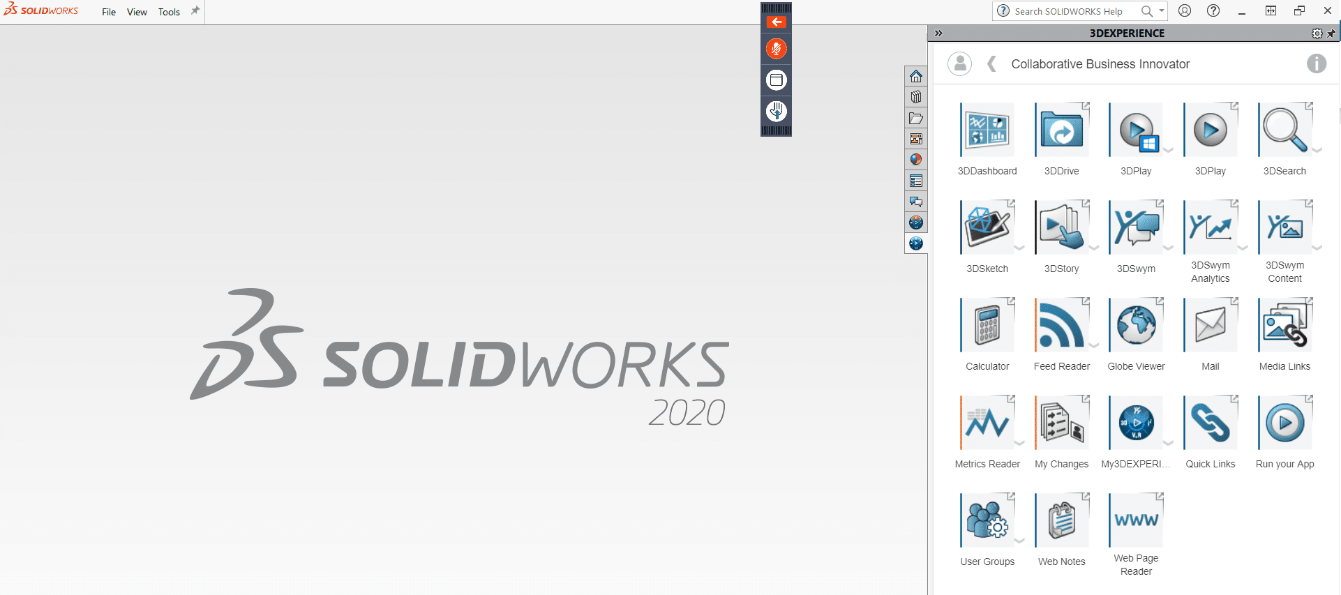 Collaborative Business Innovator in the SOLIDWORKS add-in