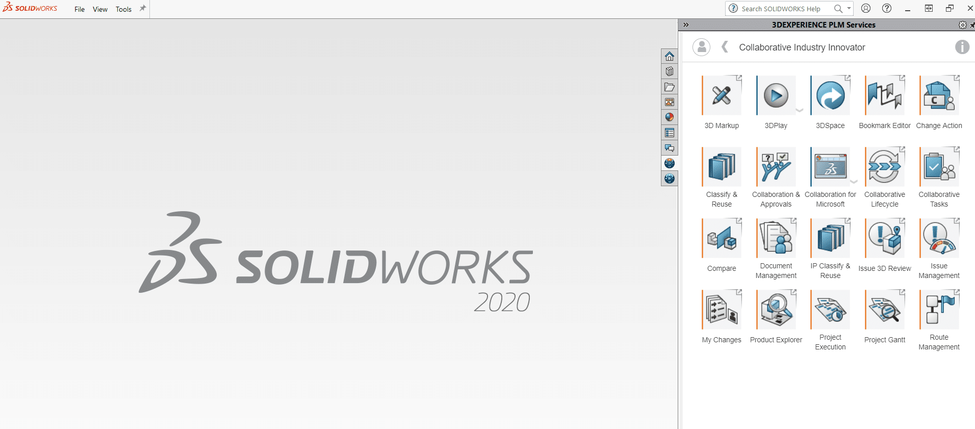 Collaborative Industry Innovator in SOLIDWORKS