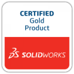 SOLIDWORKS Certified Gold Product